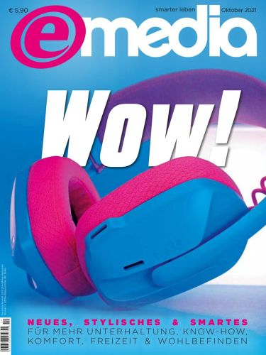 Cover: e-Media smarter leben Magazin Hardware Software Internet No 10 2021