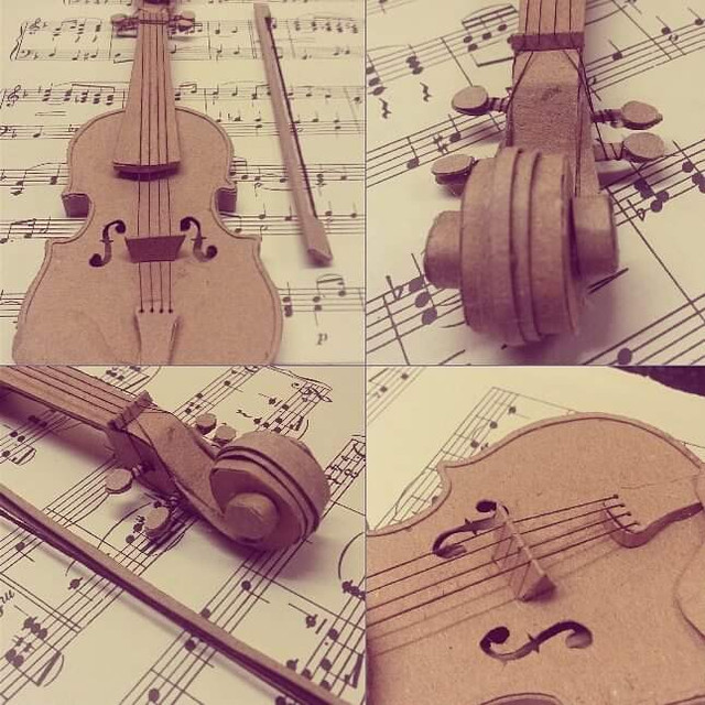 ANOTHER MINIATURE VIOLIN