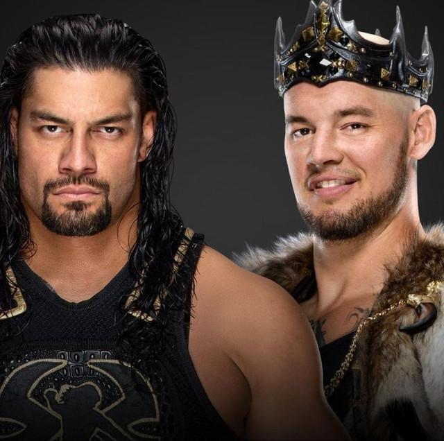 Roman Reigns vs King Corbin