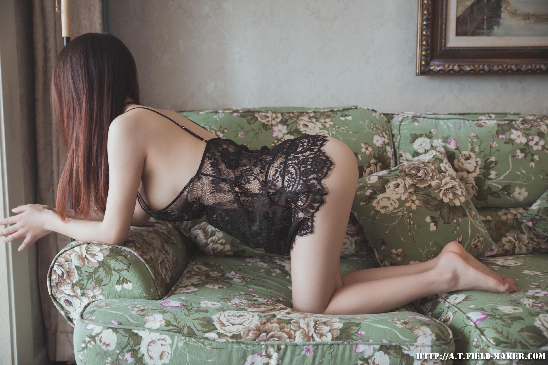 Tsubaki Album vol.006 Sheer lace pajamas 怠いお昼のパジャマ少女 sexy-nightdress-10