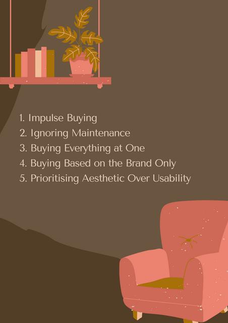 1-Impulse-Buying-2-Ignoring-Maintenance-3-Buying-Everything-at-One-4-Buying-Based-on-the-Brand-Only