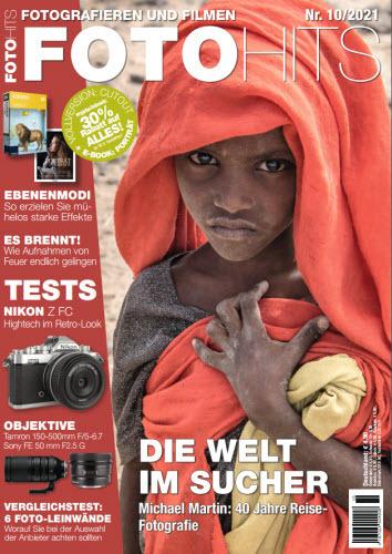 Cover: FotoHits Magazin No 10 Oktober 2021
