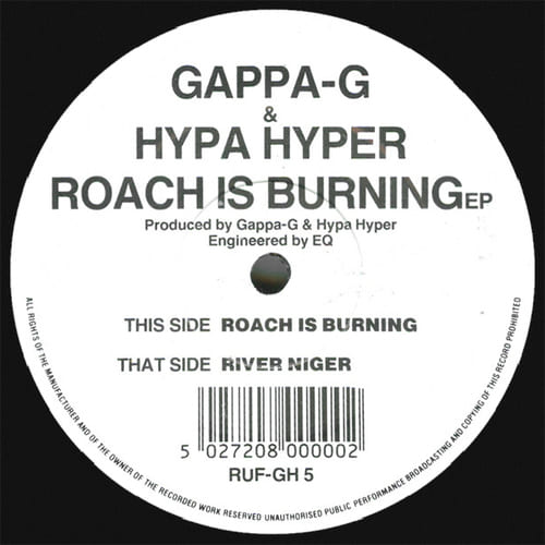 Gappa-G & Hypa Hyper - Roach Is Burning EP