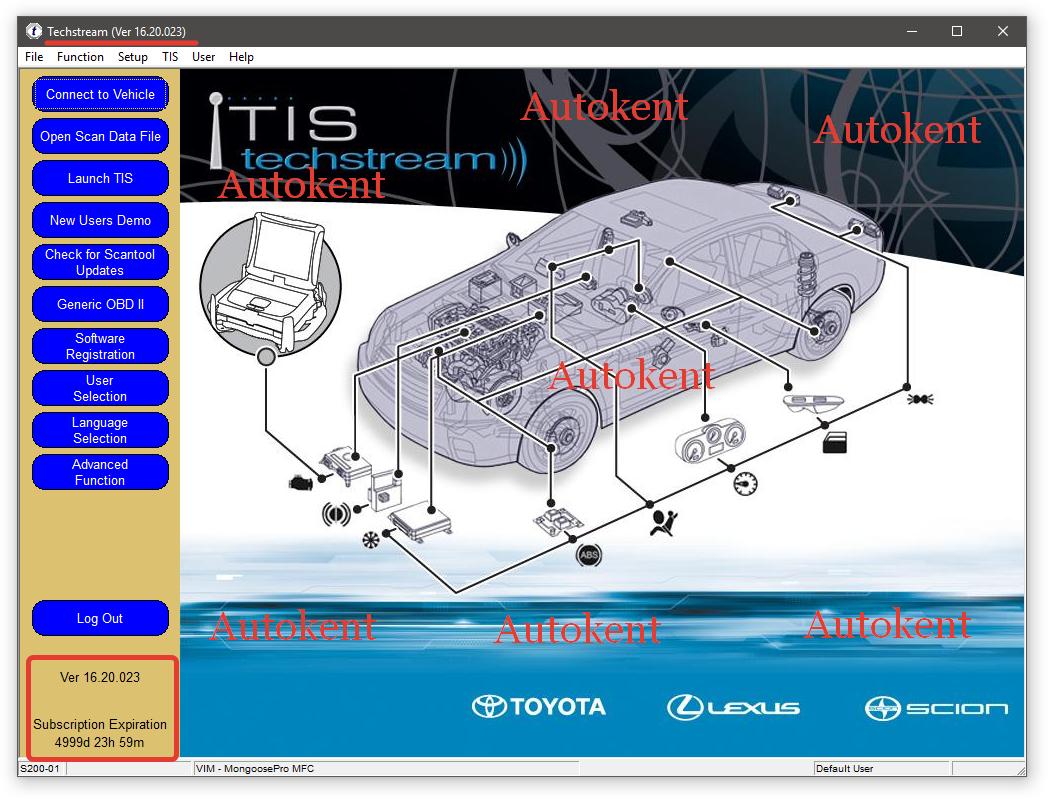 Toyota Techstream 16.20.023 Multilingual