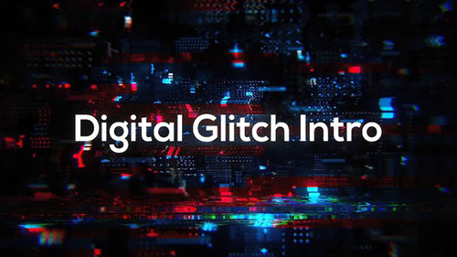 Glitch Technology Intro 33282479 - Project for After Effects (Videohive)