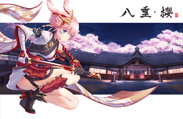 Аниме Арт - Страница 3 Konachan-com-299608-animal-ears-aqua-eyes-armor-building-elbow-gloves-gloves-honkai-impact-japanese