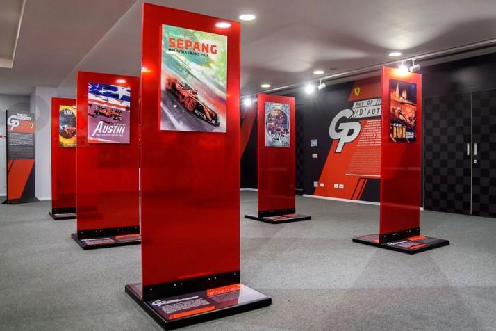 FERRARI F1 COVER ART RACE POSTER 2018 2