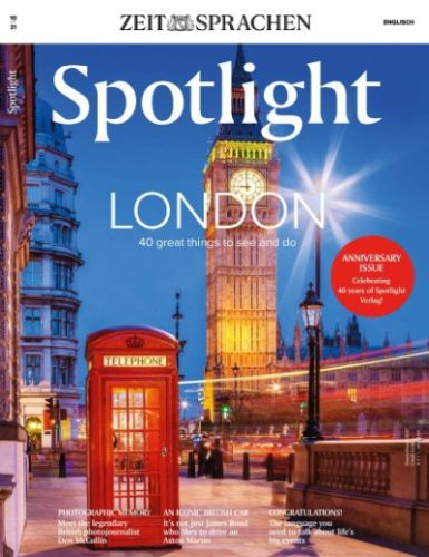 Cover: Spotlight Einfach Englisch Magazin No 10 Oktober 2021