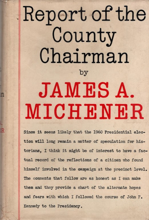 REPORT Of The COUNTY CHAIRMAN., MICHENER, James