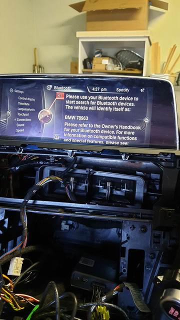 CIC to NBT Retrofit Done - Pic Heavy - 6Post com | BMW 6
