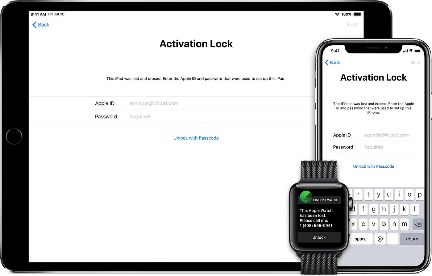iCloud Unlocking service