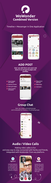 WoWonder Combined Chat Timeline And News Feed Application For WoWonder PHP script - 3