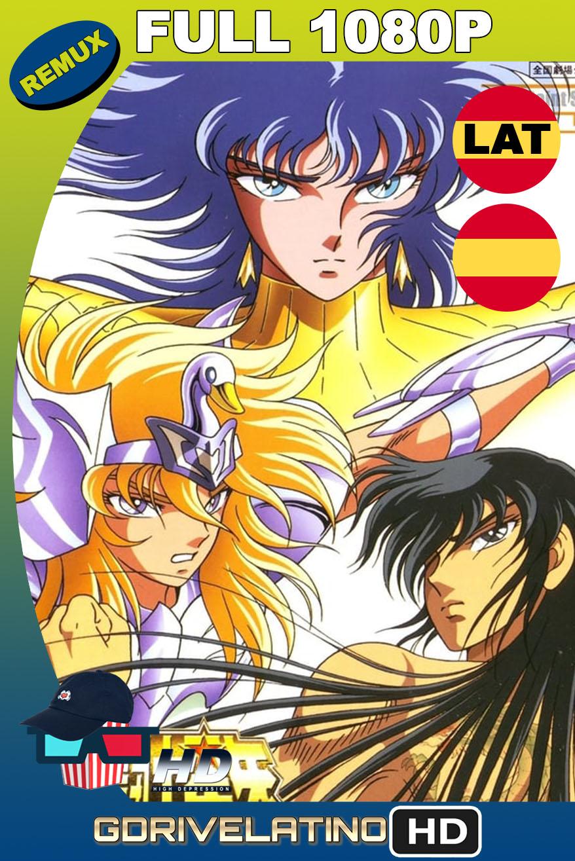 Saint Seiya: Los Caballeros del Zodiaco contraatacan (1988) BDRemux 1080p Latino-Castellano-Japonés MKV