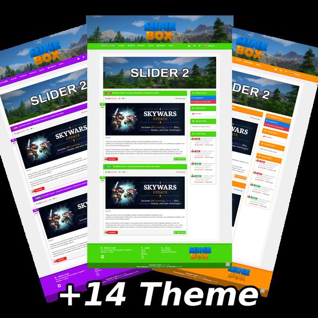 CSS - [NamelessMC Theme] MineBox Premium Template | LeakMania v6