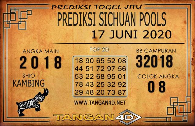 PREDIKSI TOGEL SICHUAN TANGAN4D 17 JUNI 2020