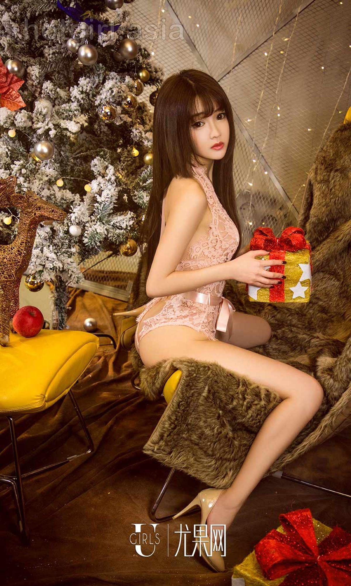 [Ugirls 爱 尤物] No.949 Bunny & Tina-Sleepless Christmas Eve Photo Album