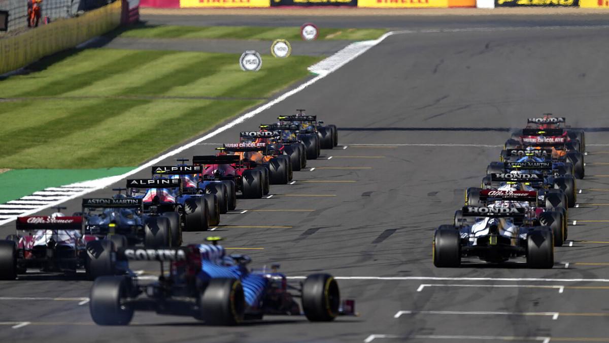 Dove Vedere BritishGP Silverstone Streaming Partenza Gara Ferrari F1 2021