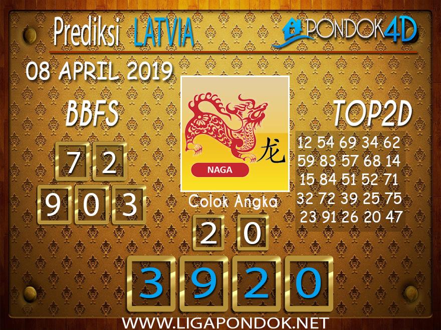 Prediksi Togel LATVIA PONDOK4D 08 APRIL 2019