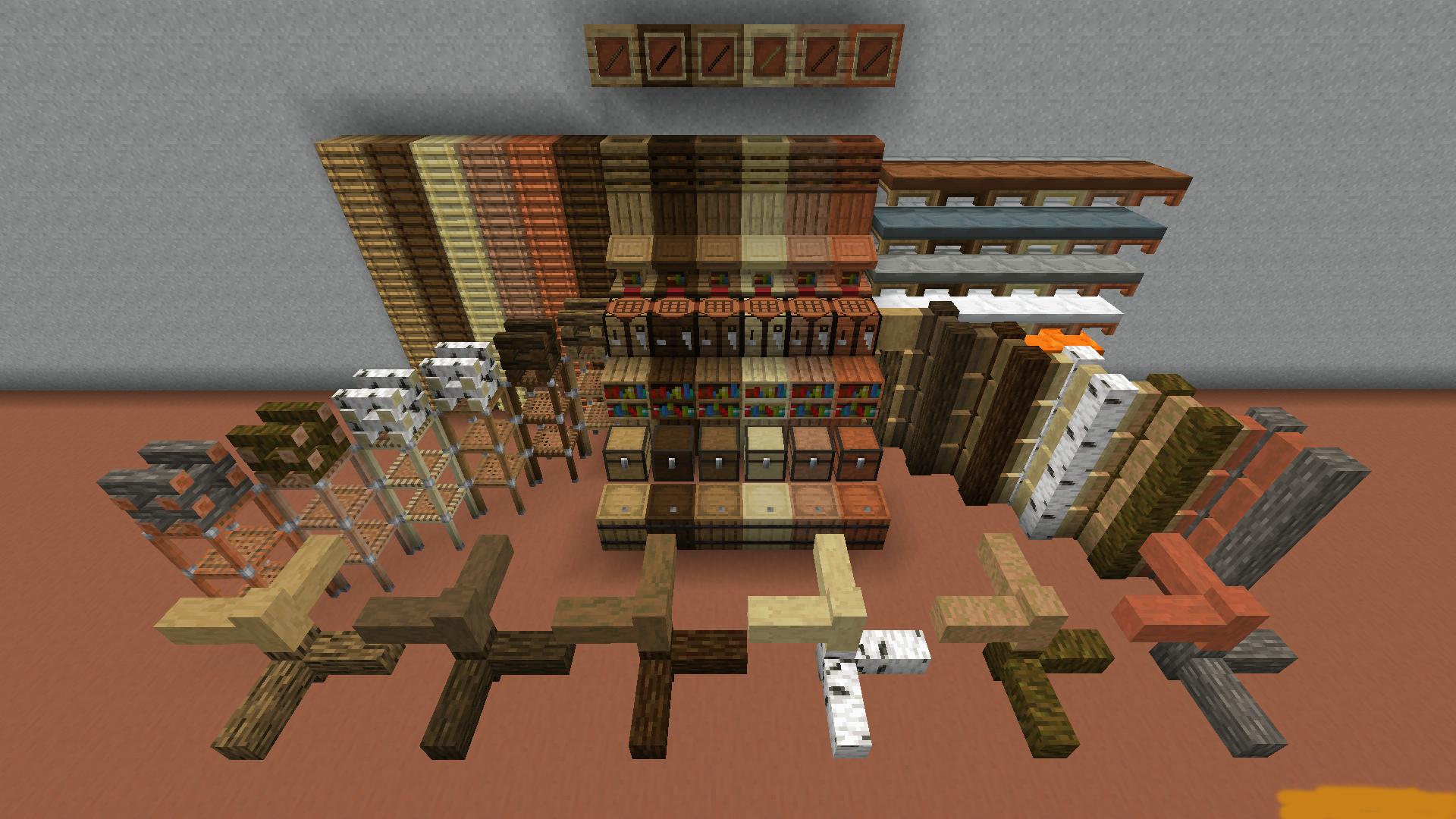 I Like Wood для Minecraft 1.15.2 (EN/RU)