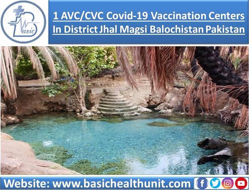 1 AVC/CVC Covid-19 Vaccination Centers In District Jhal Magsi Balochistan Pakistan