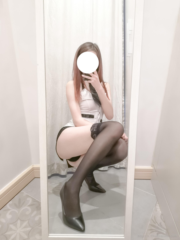 Tsubaki Album Selfie vol.002 Mini Hip Skirt Sexy Teacher 004