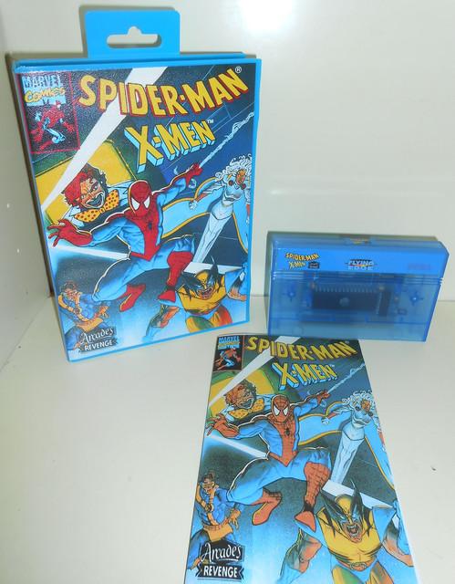 Spider-Man / X-Men: Arcade's Revenge Master System Complet 100% neuf   1