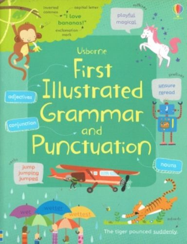 Usborne First Illustrated Grammar and Punctuation