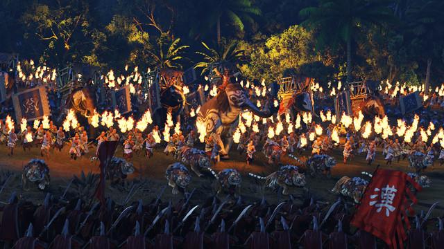 歡迎來到叢林 《Total War: THREE KINGDOMS》《The Furious Wild》擴展包將於9 月3 日推出 Elephant-Charge