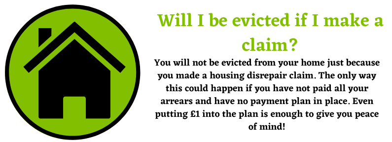 evicted from your home after a claim