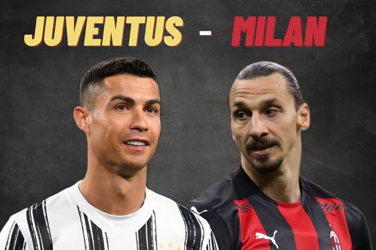 Dove vedere JUVENTUS MILAN Streaming Gratis: CR7 Ronaldo VS Ibrahimovic | Video Online Serie A