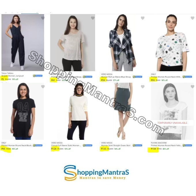 Minimum 99% Off on Top Brand Womens Clothing – Limited Time Offer
