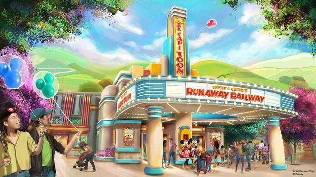 [Disneyland Park] Mickey and Minnie's Runaway Railway (2022) - Page 2 Zzzzz45
