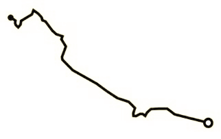 recorrido-liena-maedio-maraton-formentera-travelmarathon-es