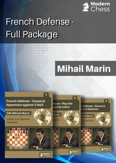 French Defense Full package (PGN) French-Defence
