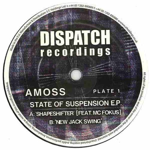 Amoss - State Of Suspension E.P.