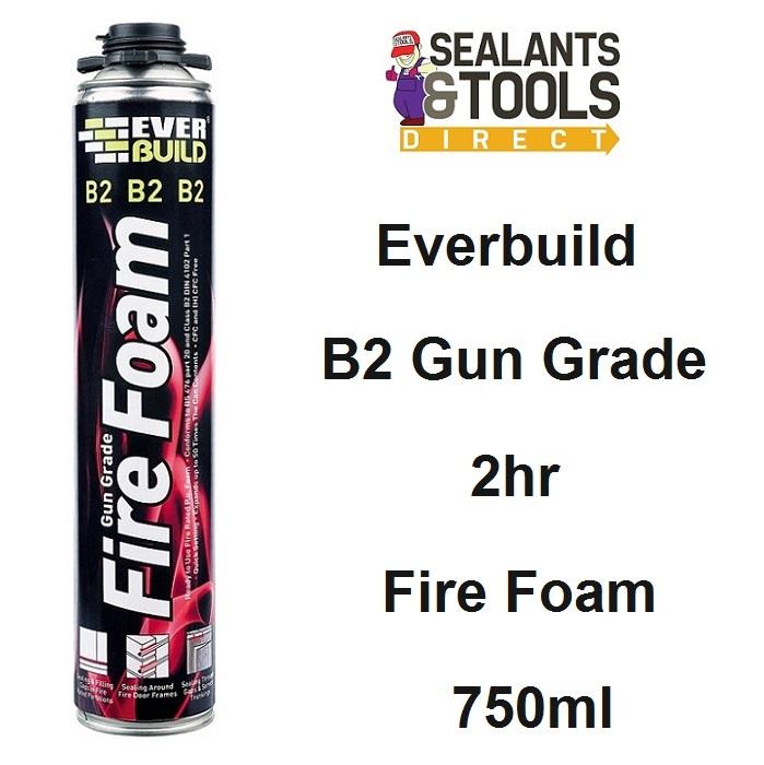 Everbuild B2 Firefoam Gun Grade Expanding 2hr Fire Foam B2FIREGUN