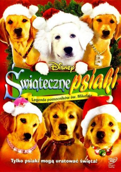 Świąteczne psiaki / Santa Buddies (2009) PLDUB.BRRip.XviD-GR4PE | Dubbing PL