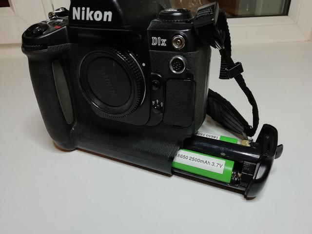 Nikon D1X 18650