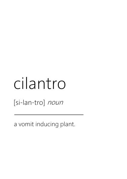 cilantro haters gift