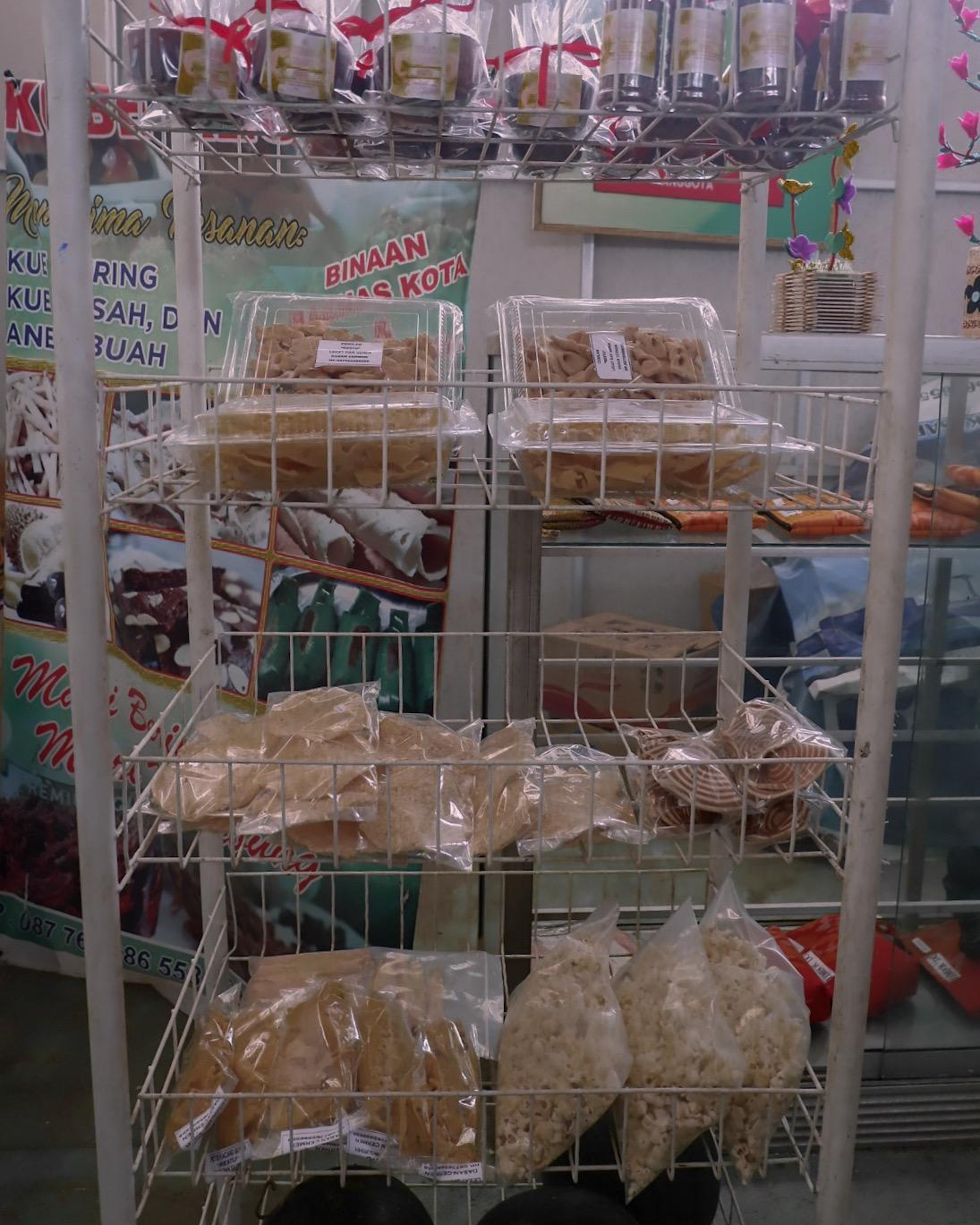 Makanan yang Dijual di KEP Dasan Cermen