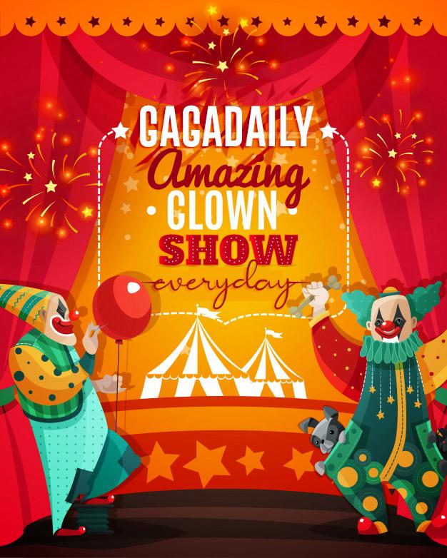 cyrk-amazing-clown-show-ogloszenie-plaka
