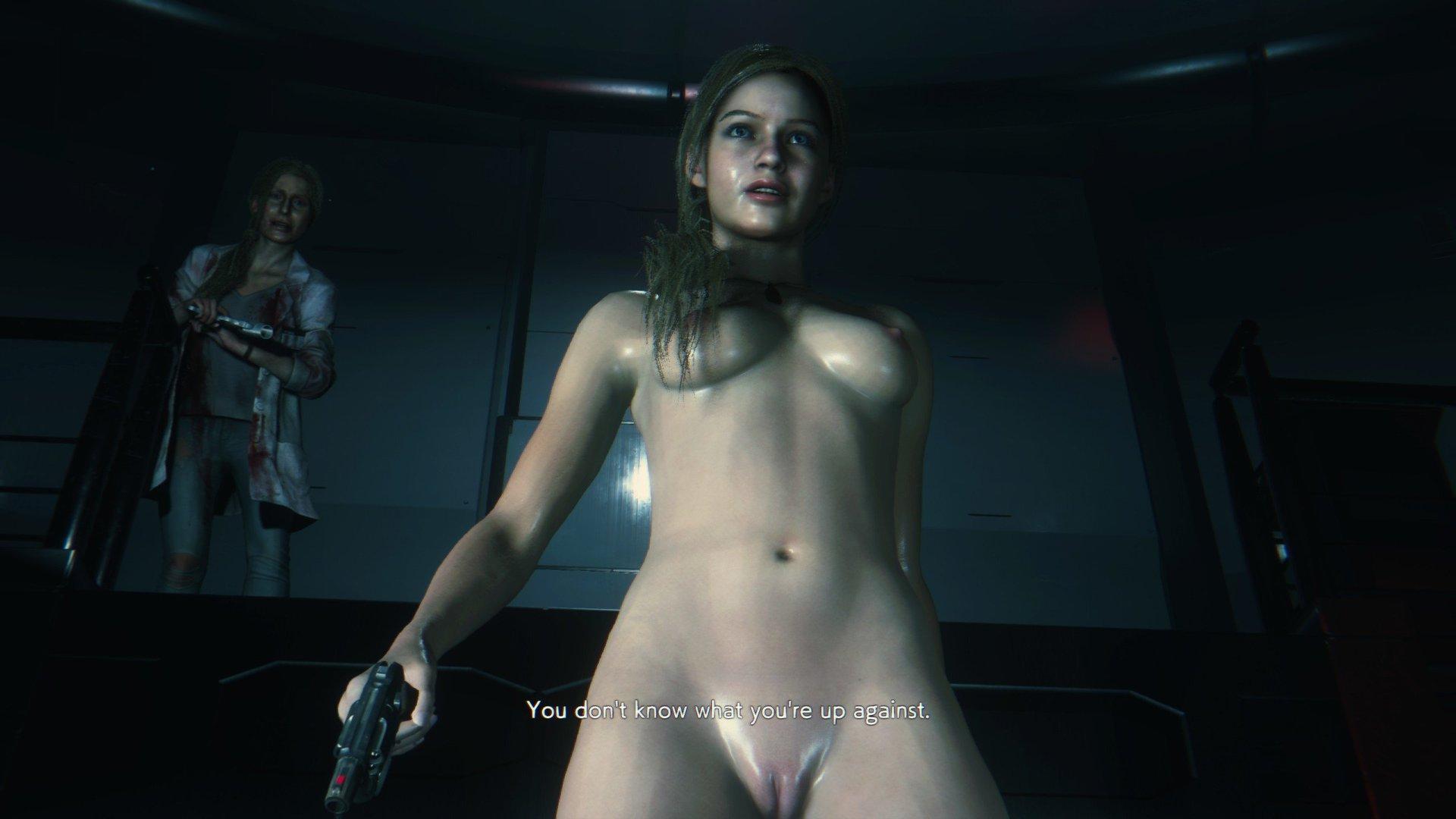 《生化危机 2 重制版》克莱尔&艾达王裸体 MOD