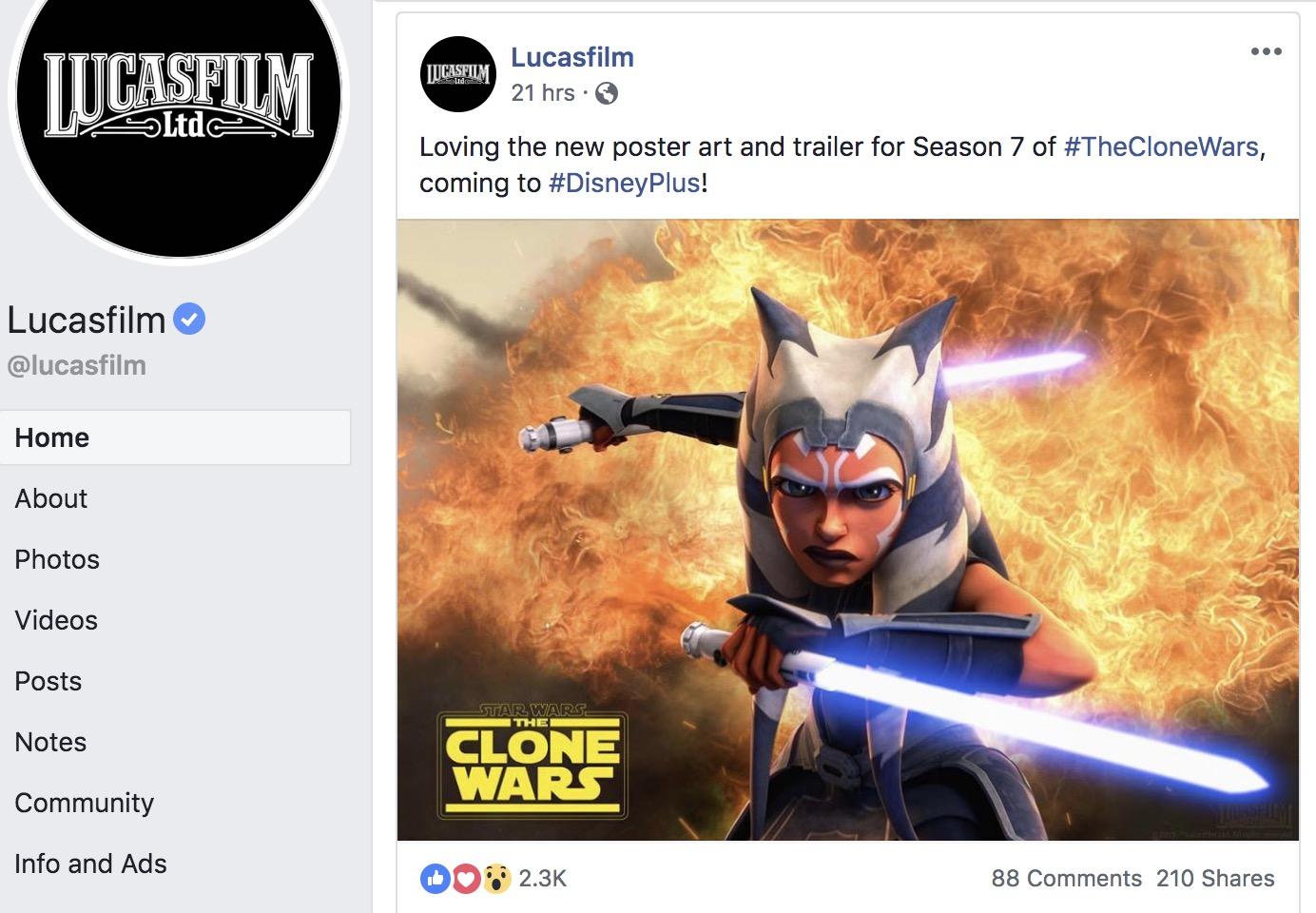 Star Wars: The Clone Wars season 7 trailer: Ahsoka & Anakin