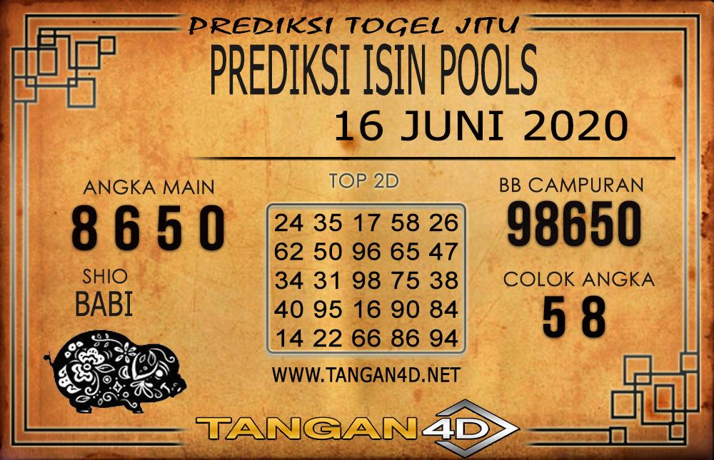PREDIKSI TOGEL ISIN TANGAN4D 16 JUNI 2020