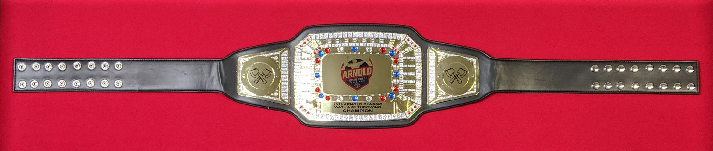 2019 Arnold Axe Throwing Championship Belt