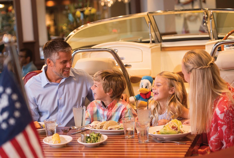 Free Disney Dining & Drinks Offer