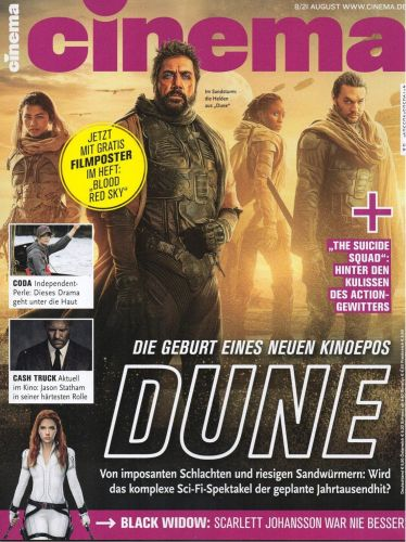 Cover: Cinema Kinomagazin No 08 August 2021