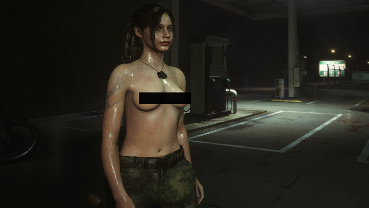 Порно моды resident evil