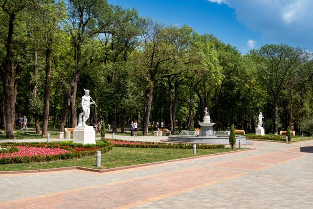 Ессентуки, достопримечательности, Курортный парк,  минеральная вода, что посмотреть в Ессентуках