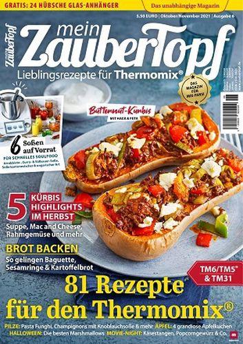Cover: Mein Zaubertopf Magazin für Thermomix No 06 2021